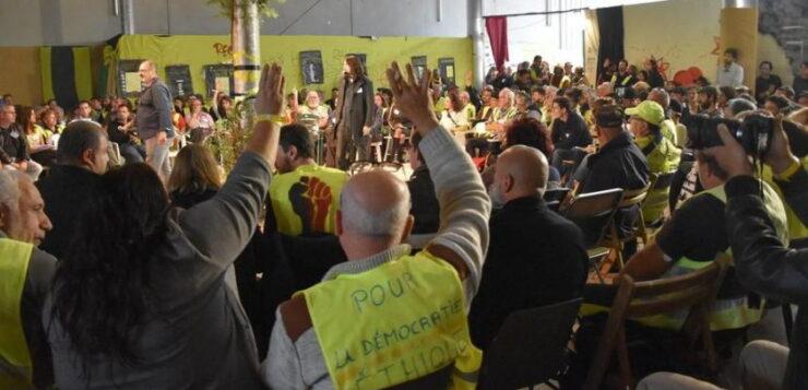 Ανταπόκριση από τη 4η Συνέλευση των Συνελεύσεων των Κίτρινων Γιλέκων