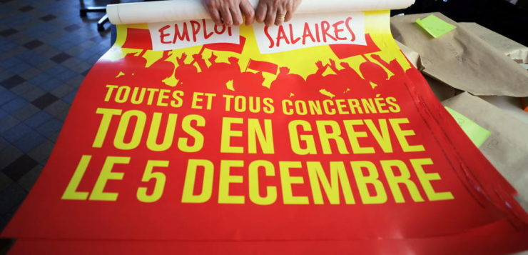 General strike in France: Unions & Yellow Vests Converge
