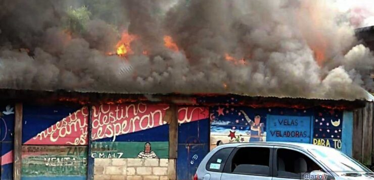 Παραστρατιωτικές επίθεσεις-εμπρησμοί κατέστρεψαν τη συγκομιδή καφέ των Ζαπατίστας – Έκκληση για αλληλεγγύη